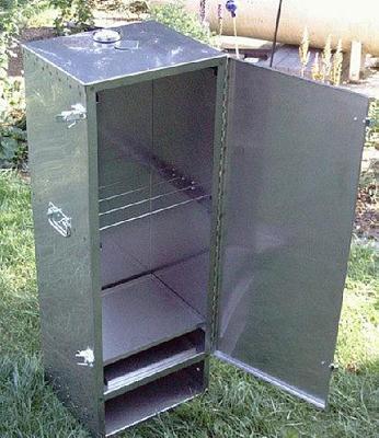 raeuchern mit dem raeucherschrank oder raeucherofen. Black Bedroom Furniture Sets. Home Design Ideas